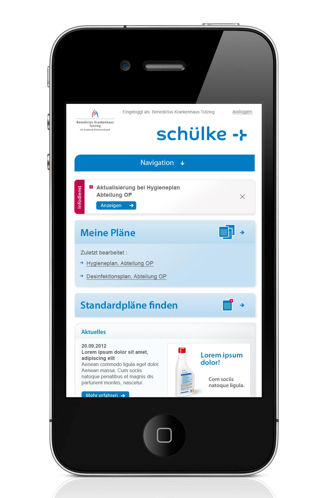 120923_sum_hygieneplaner_01_startseite_mobile_auf_iphone