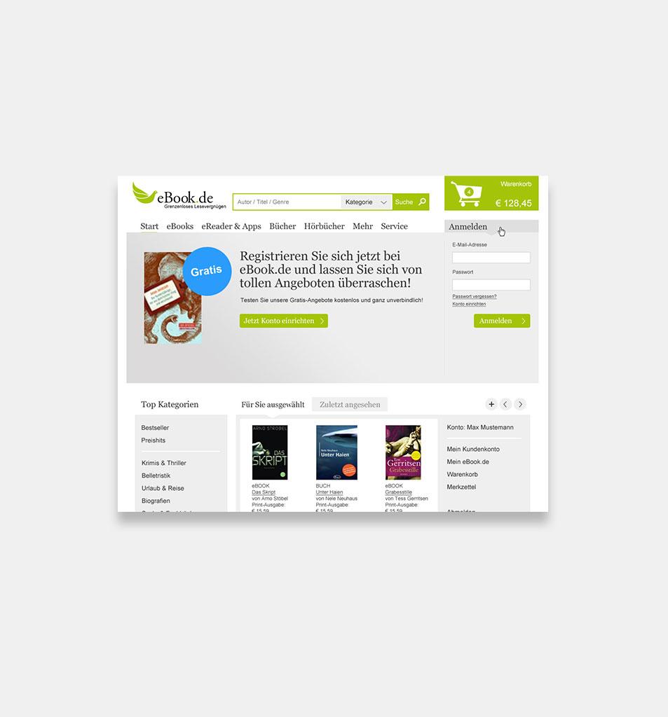 Design for an Online Book Shop