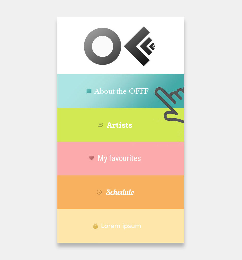 Off Festival App - Free Project